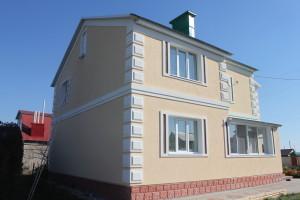 Отделка фасадов домов в Альметьевске