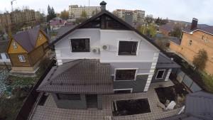 Фасад дома в Альметьевске