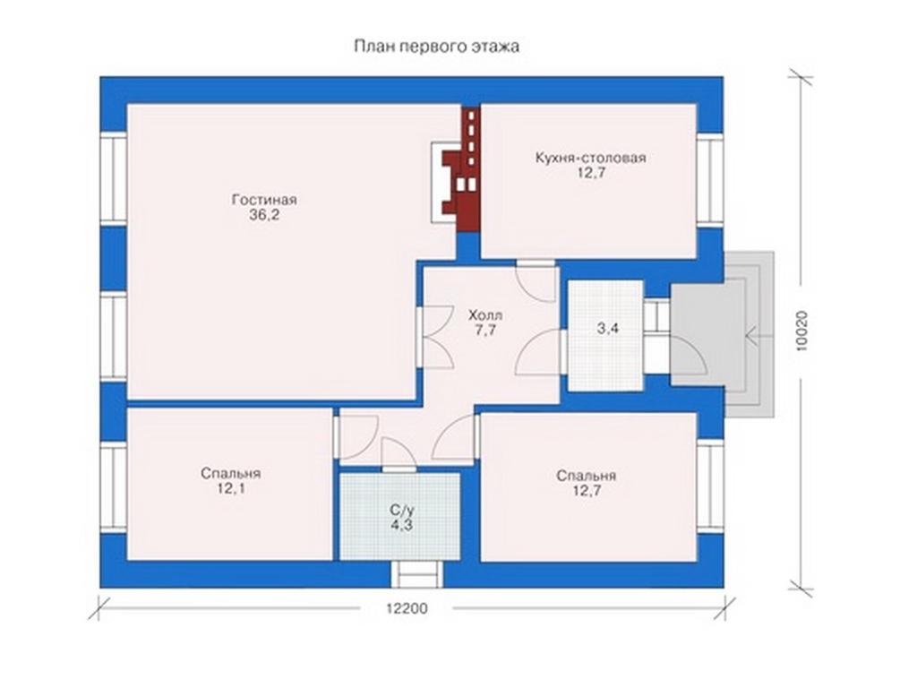 планировки частных домов в картинках